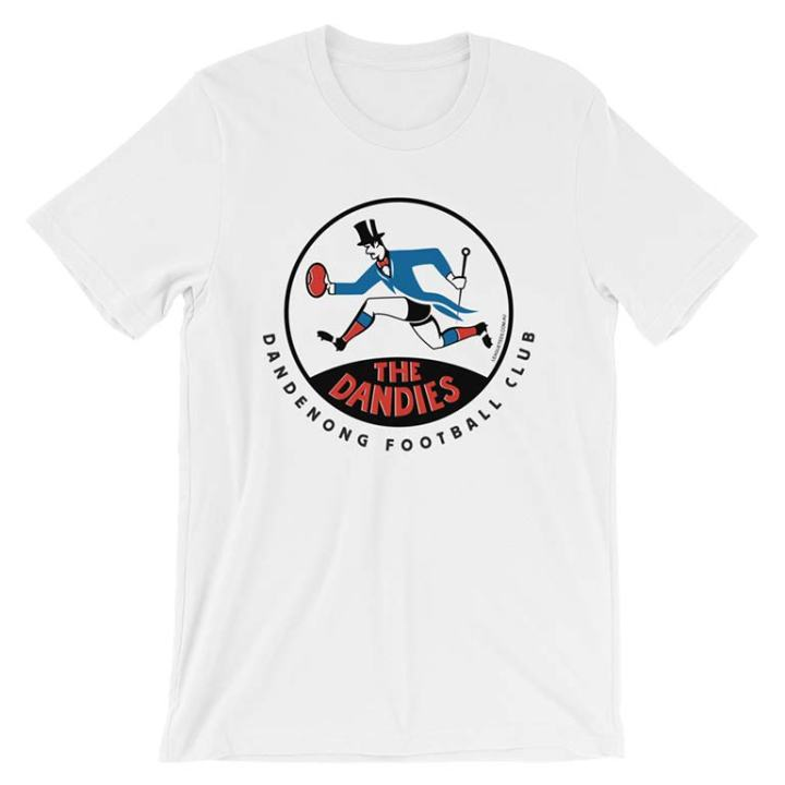 Dandenong Dandies VFA vintage tshirt white