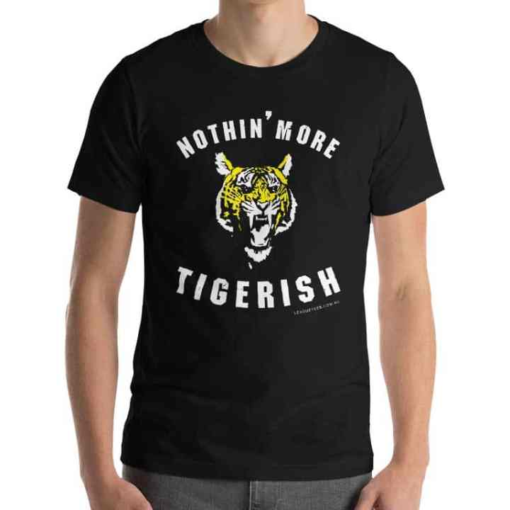 nothin more-tigerish than a bloody tiger
