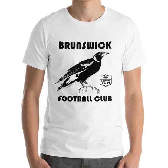 Brunswick Magpies football club tshirt