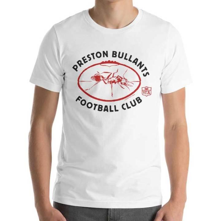 Preston Bullants football club tshirt