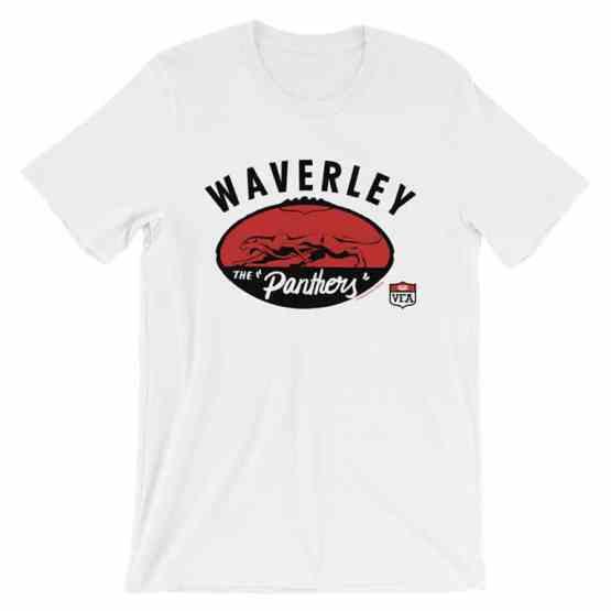 Waverley Panthers VFA vintage tshirt white