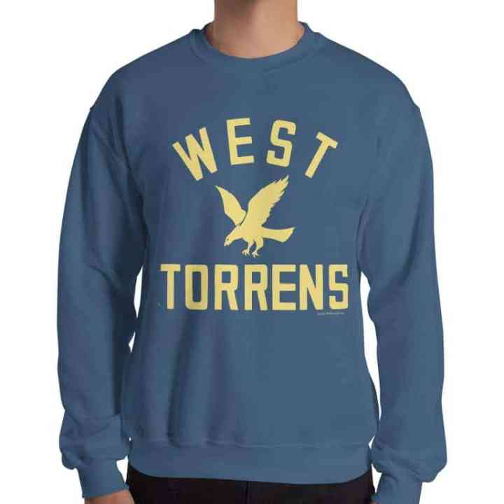 west torrens retro footy jumpers