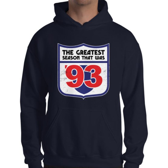 the greatest season 1993 footy jumper