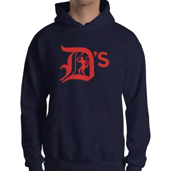 dees retro footy hoodies