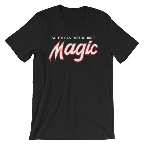 melbourne magic basketball t-shirt