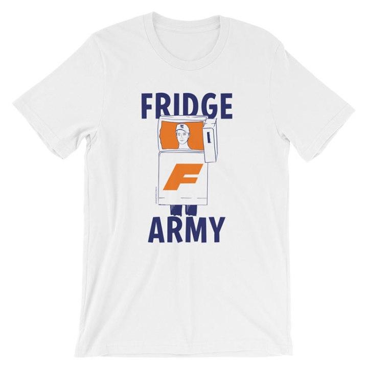 Fridge Army womens footy white