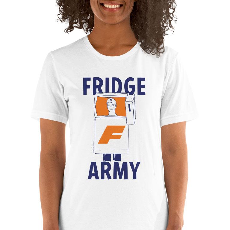 e0ca6cc997ad Fridge Army Womens Footy t-shirt – League Tees