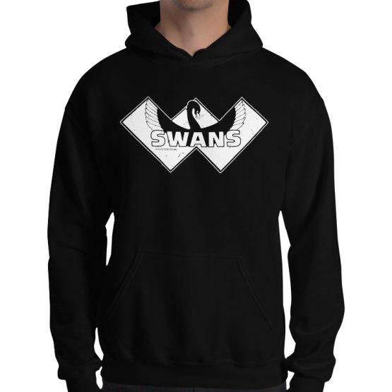swan districts retro footy hoodie