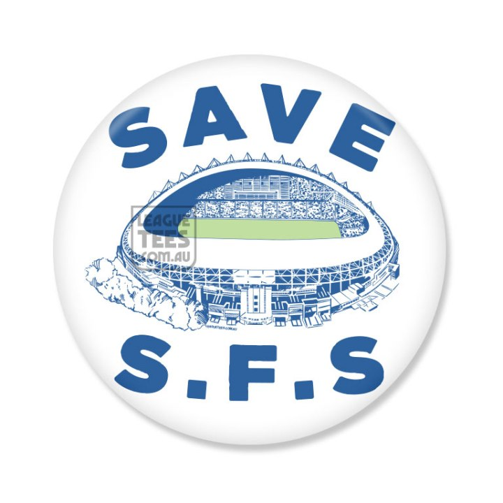 save sydney football stadium badge