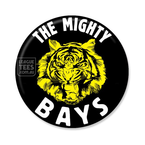glenelg the bays vintage badge