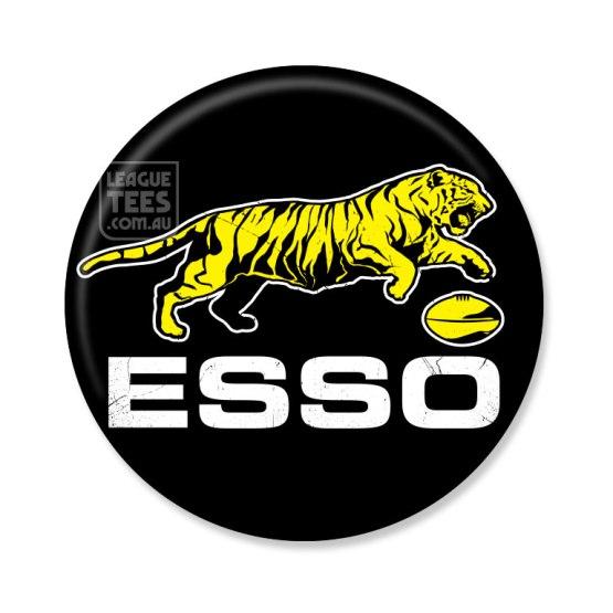 esso tigers vintage badge