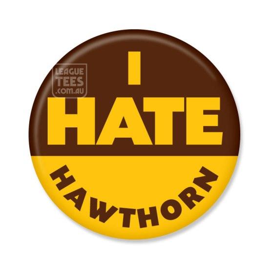i hate hawthorn footy abdge