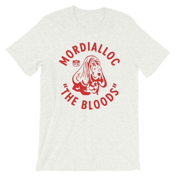 mordialloc vfa the bloods vintage t-shirt heather