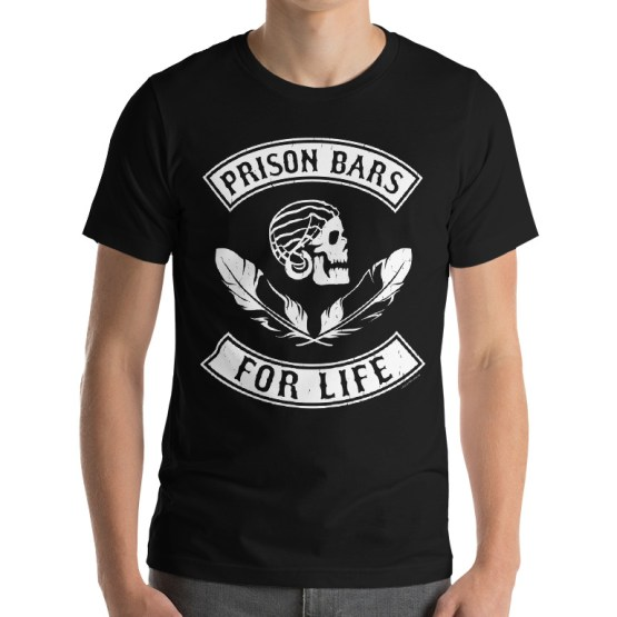 port adelaide prison bars t-shirt