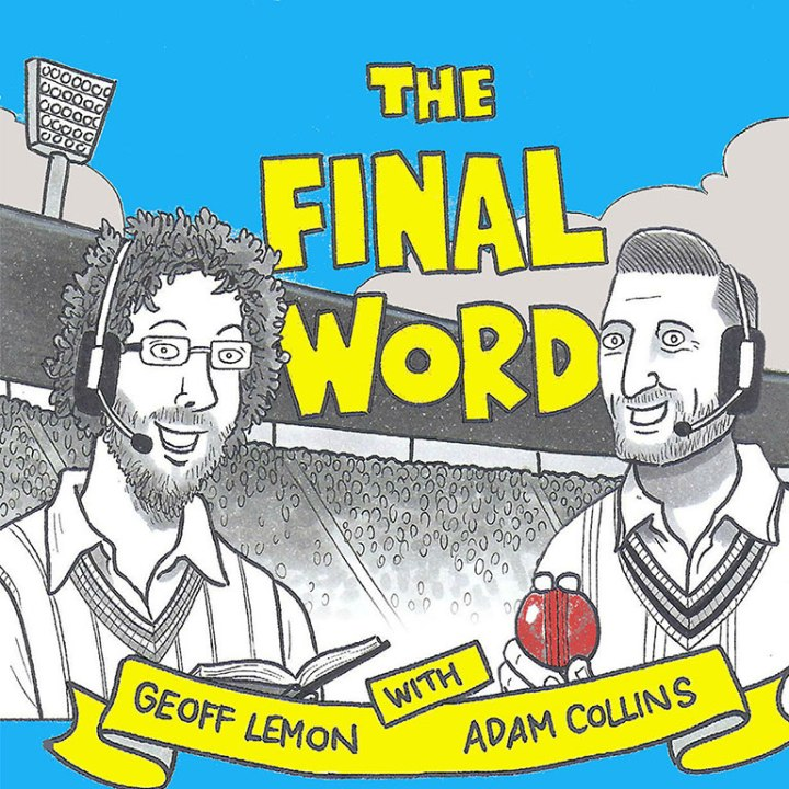 the final word cricket podcast t-shirt