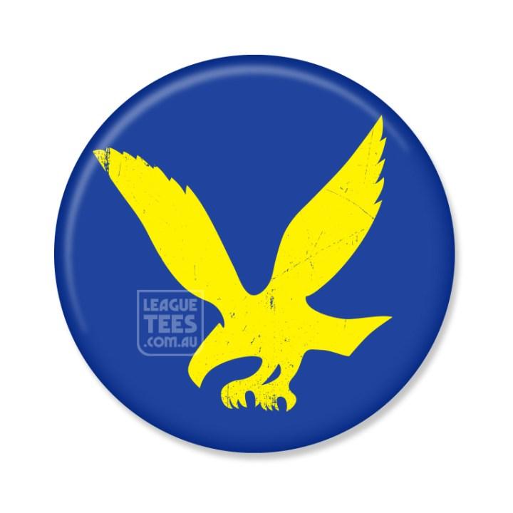 west torrens eagles vintage football badge