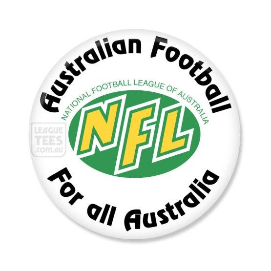 NFL Australia vintage badge