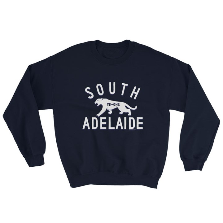 south adelaide jumper navy