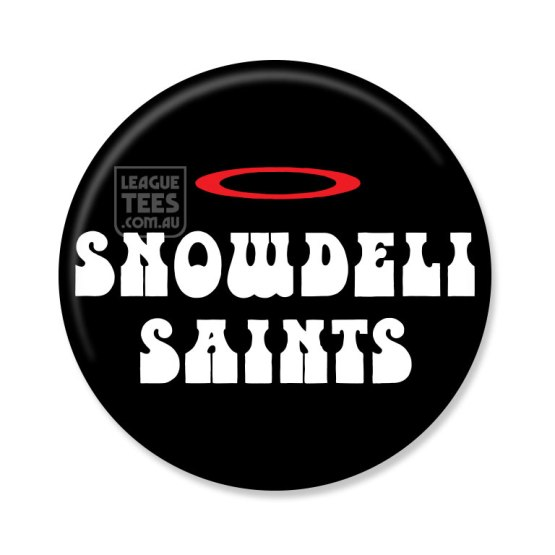 snowdeli saints vintage football badge