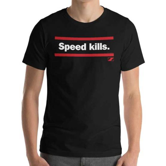 speed kills essendon shirt