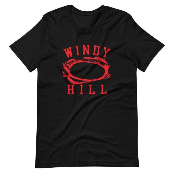 Windy Hill football ground shirt