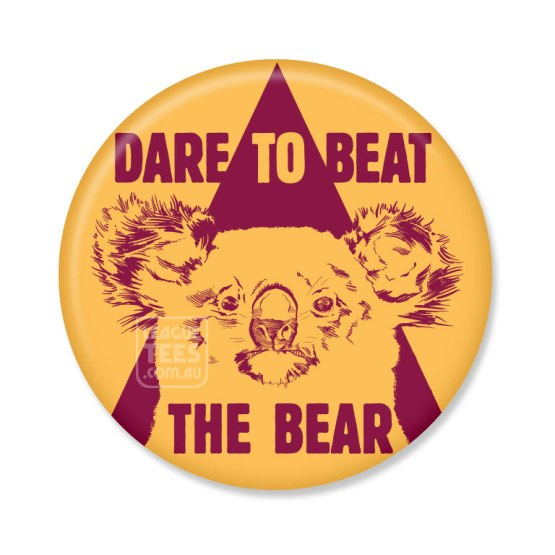 brisbane bears vintage badge
