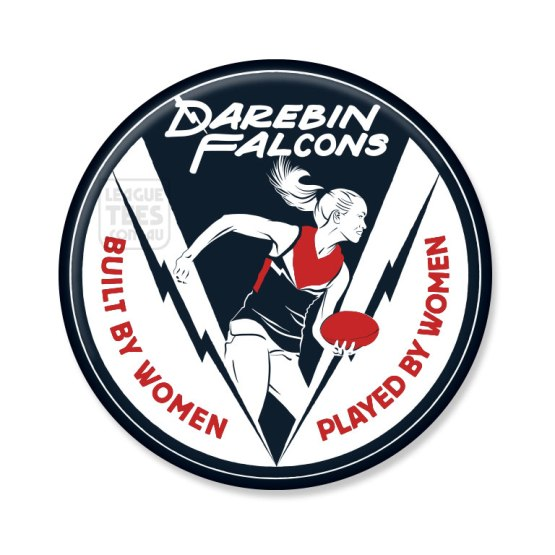 darebin falcons badge