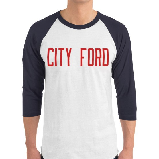 city ford retro jersey