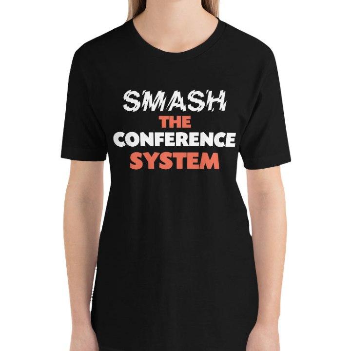 smash conference system shirt