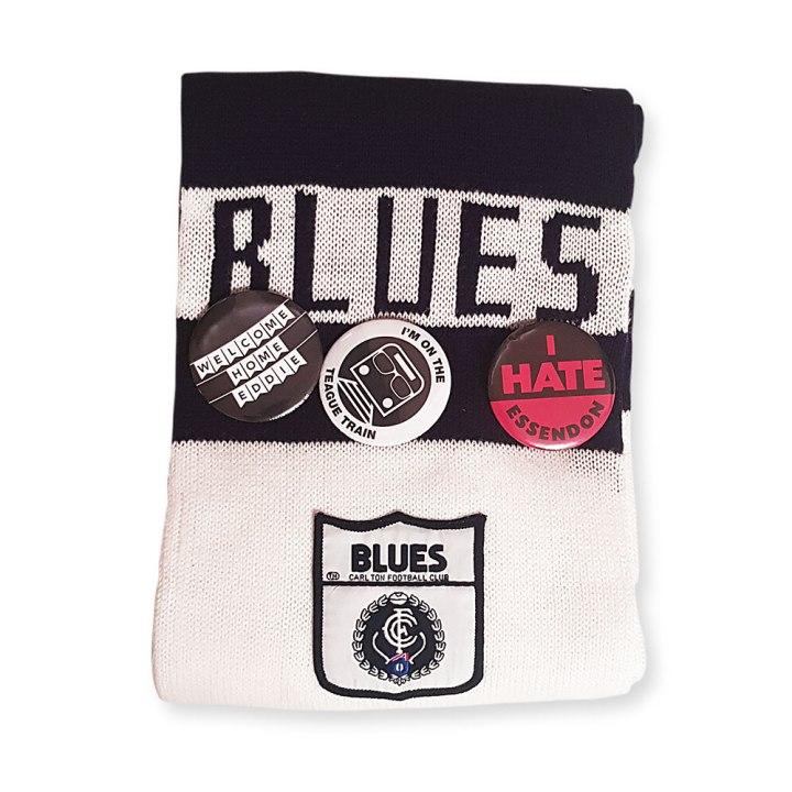 carlton blues scarf