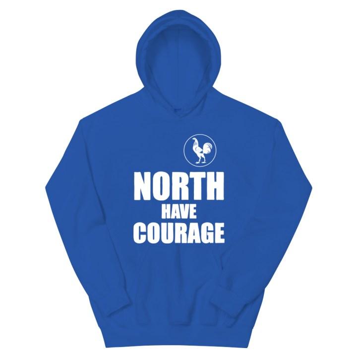 north have courage retro football