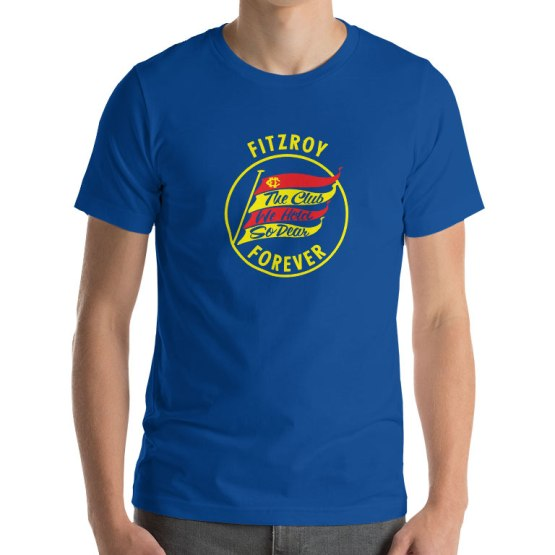 fitzroy football club t-shirt