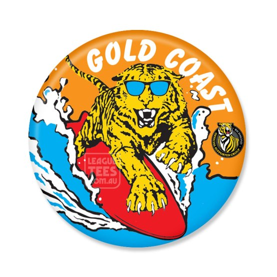 richmond tigers gold coast badge