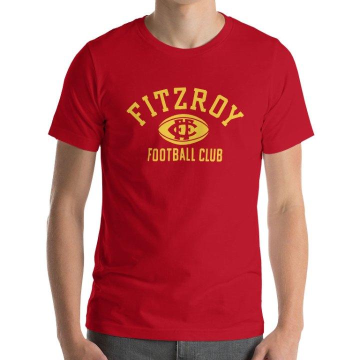 fitzroy football club retro t-shirt