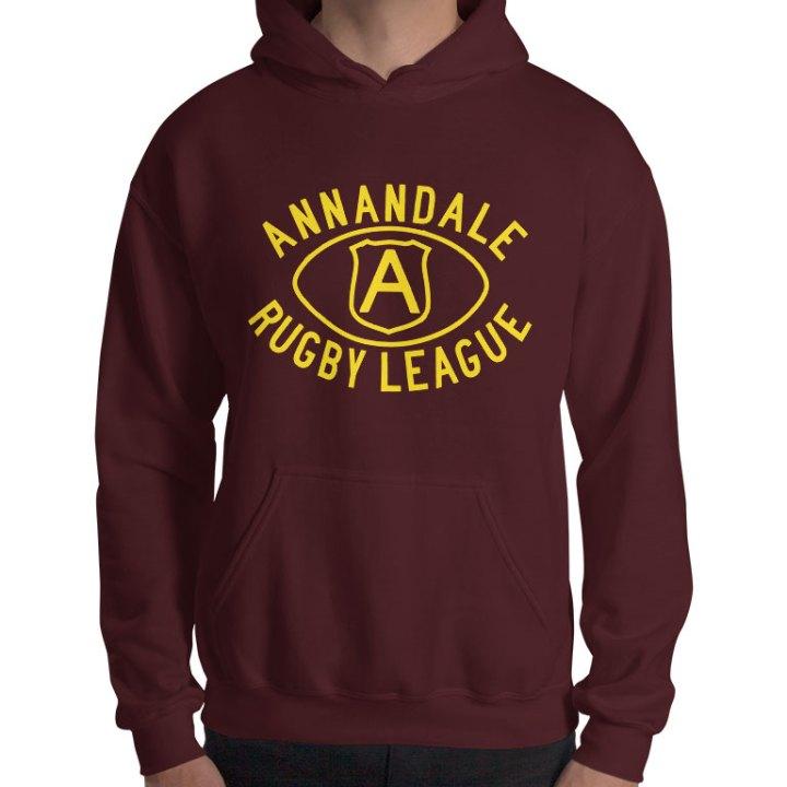 Annandale retro rugby league hoodie