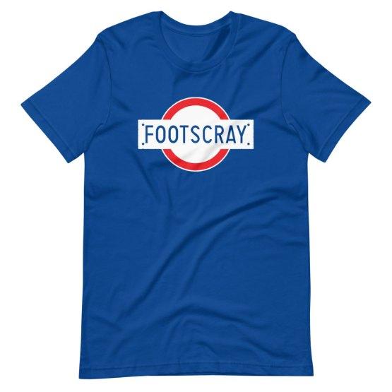 Footscray station retro shirt