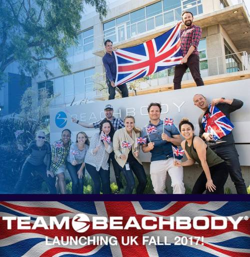 team beachbody UK