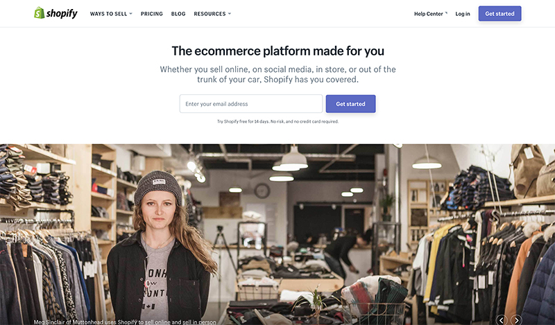 how to start an online store with shopify