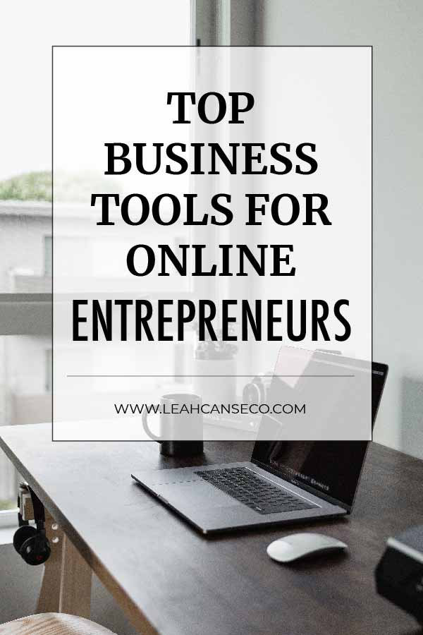 Learn what the top business tools are that online entrepreneurs are using. #entrepreneurtools #businesstools #marketingtools