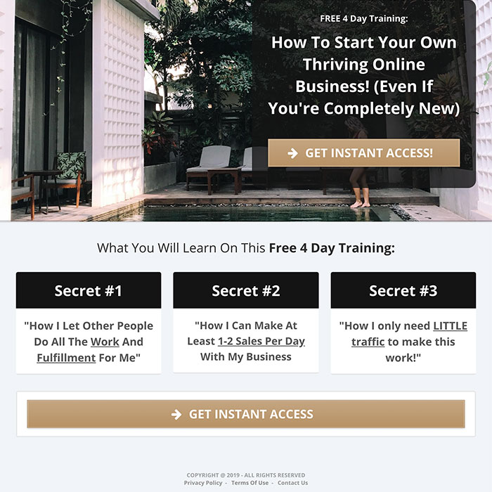 click funnels landing page
