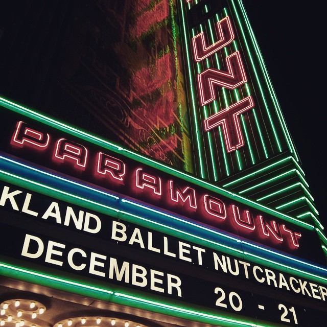 2nd show. Up in lights!