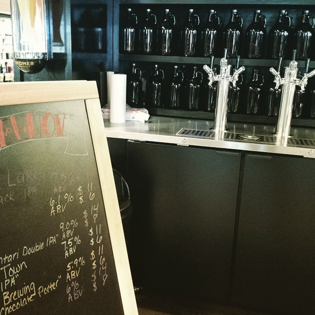 Beer on tap at the grocery store -Portland, you've got one up on Oakland.