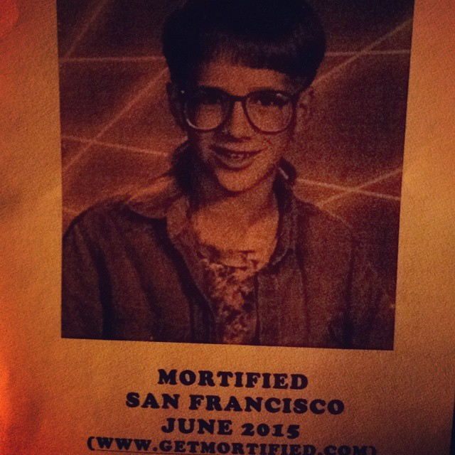 """Excited to finally see """"Mortified!"""""""