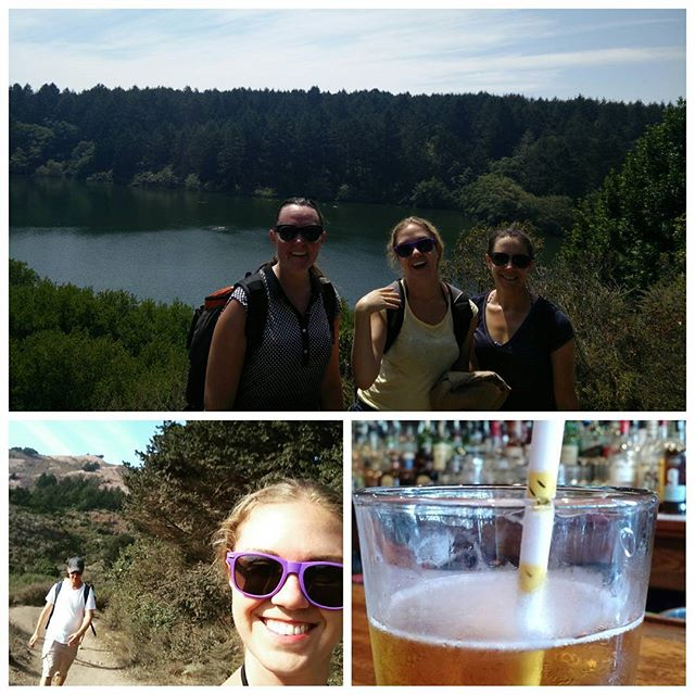 Lovely day-cation to Bass Lake in Bolinas.  #californiaadventures #hikingface
