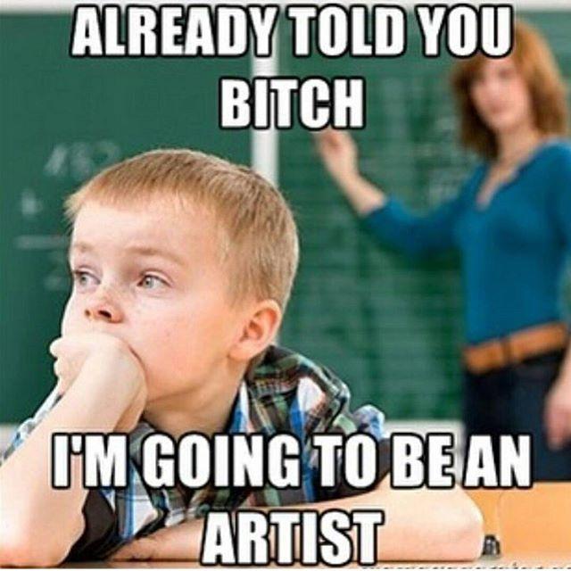 Word. #artist