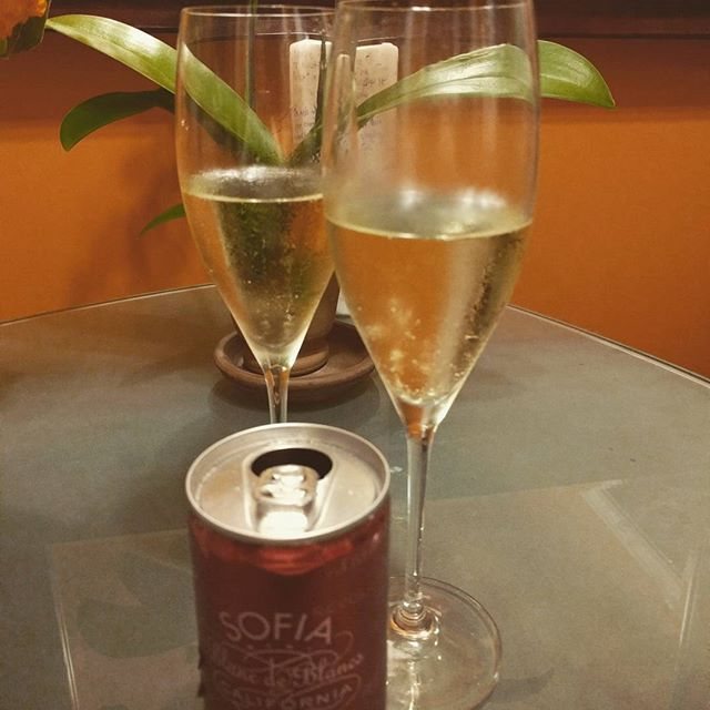 A mini celebration - at this time last week my water had just broken (yes it DOES sometimes happen like in the movies) and we were off on the journey to parenthood.  #lifechanger #holyshit #bubbly