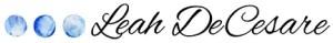 Leah DeCesare logo small | leahdecesare.com