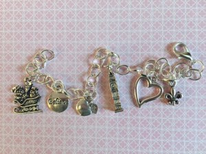 Charm Bracelet inspired by #forkbook | leahdecesare.com