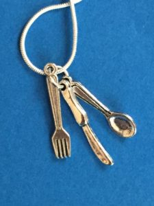 Fork knife and spoon charms | leahdecesare.com