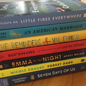 Small stack of book from Book Expo | leahdecesare.com